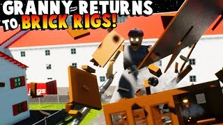 GRANNY RETURNS TO LEGO CITY - Brick Rigs Gameplay Roleplay