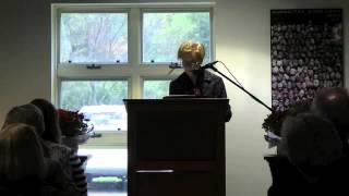 Head of School Installation - Fall 2012 - Keynote Speaker Jill Ker Conway