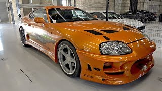 The Fast and The Furious Toyota Supra 2JZ GTE & Mitsubishi Eclipse