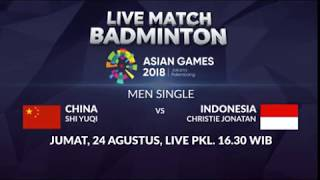 Download Video Dukung Ginting dan Kawan-Kawan! Inilah Jadwal Match Badminton Individual | Asian Games 2018 MP3 3GP MP4