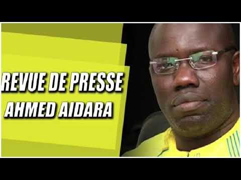 Revue de Presse Ahmed Aidara du Lundi 13 Septembre 2021 sur Zik Fm