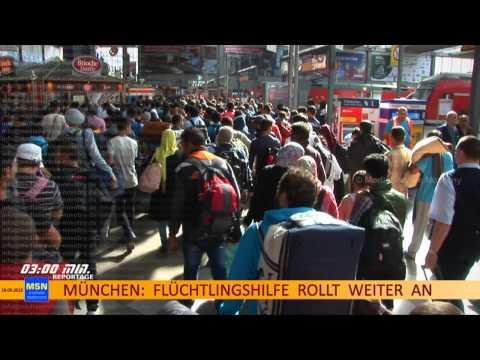 Munich refugees report 16.09.2015