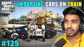 POLICE TOOK ALL MY CARS | GTA V GAMEPLAY #125