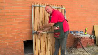 How To Fit A Ring Gate Latch - Diy At Bunnings