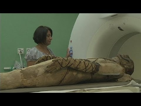 British Museum brings mummies to life