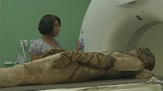 British Museum brings mummies to life thumbnail