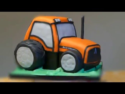 Tractor Cake Time Lapse