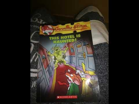 Review Of The Book Geronimo Stilton #50 The Hotel Is Haunted