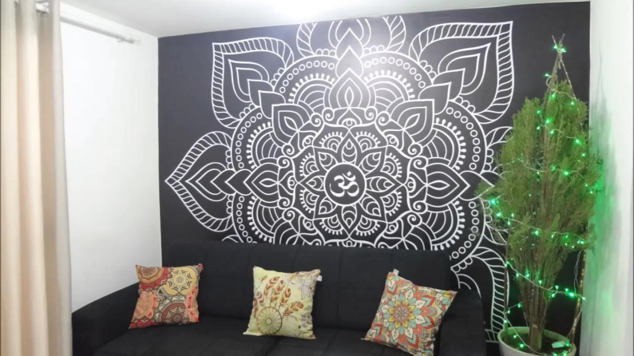 Adesivo De Mandala Parede ~ Adesivo de parede Mandala Phixar Adesivos YouTube