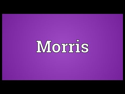 Morris Meaning