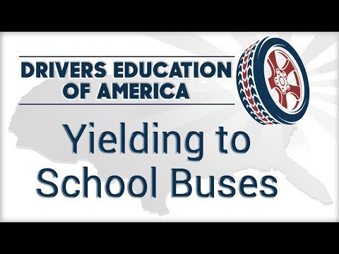 Yielding To School Buses - Texas Adult Drivers Education Online Course