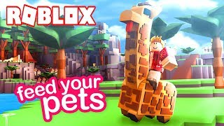 ANIMAL BREEDING EXOTIC AND WILD! -ROBLOX FEED YOUR PETS