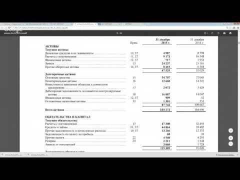 Первичный анализ стоимости акции (на примере АвтоВаз)