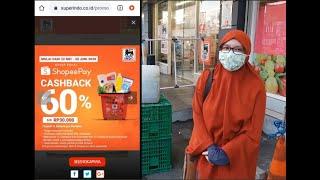 Cashback Shopeepay Di Superindo Martha Belanja 09 Youtube