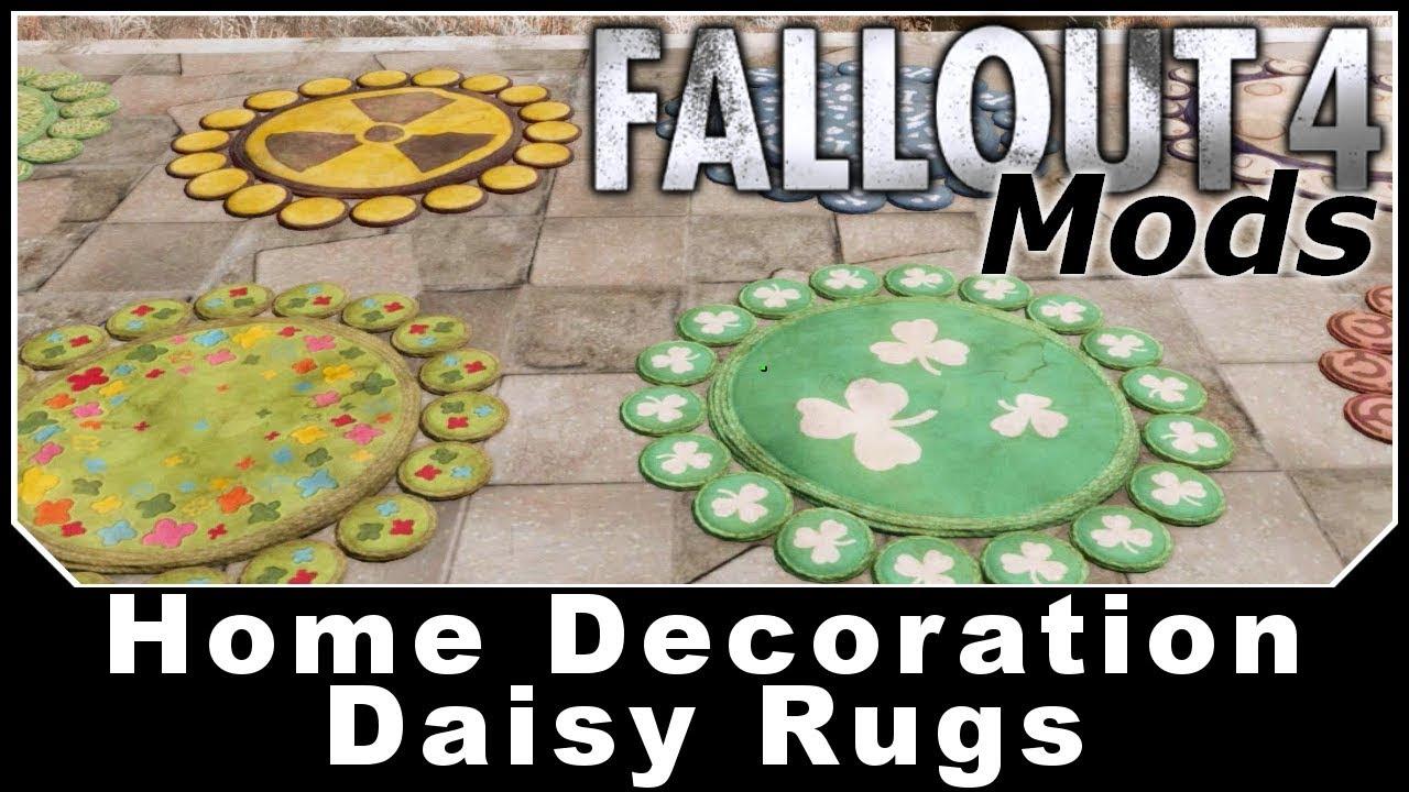 Fallout 76 Daisy Rug