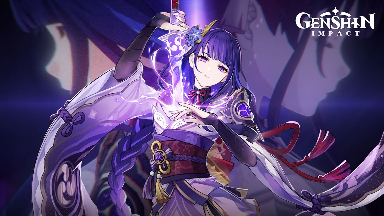 "Download Character Demo - ""Raiden Shogun: Judgment of Euthymia""   Genshin Impact"
