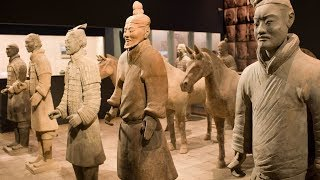China's terracotta warriors given cutting edge security in New Zealand