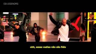 Repeat youtube video Chris Brown ft. Lil Wayne & Tyga - Loyal (Legendado/Traduzido) [Clipe Oficial]