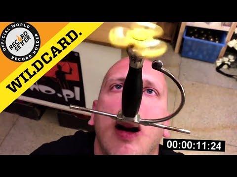 Insane Fidget Spinner World Record!