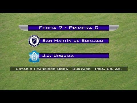 Fecha 7: San Martín de Burzaco vs J.J. Urquiza - EN VIVO