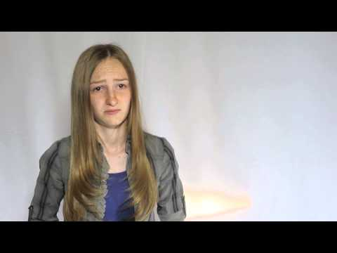 Thunder Broke Heavens Audition  Mikayla Shae Chapman 20130518