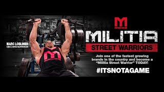 Militia Street Warrior Program is HERE!