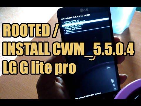 Root dan Install CWM LG G Pro Lite | Mudah