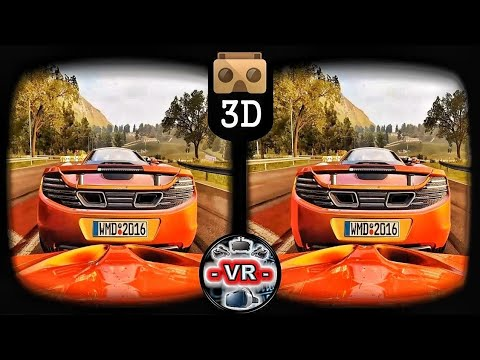 VR 3D Project Cars VR Videos 3D SBS [Google Cardboard VR Box 360] Oculus Gear VR Video 3D SBS 60fps