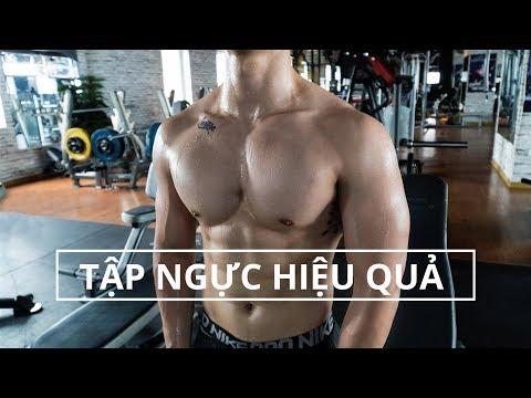 Tập tạ nặng hay tạ nhẹ giúp cơ bắp to nhanh hơn | Hướng dẫn tập ngực hiệu quả | SHINPHAMM