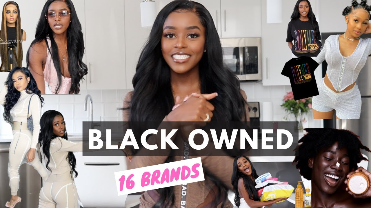 HUGE BLACK OWNED BUSINESS TRY ON HAUL | clothing, accessories, hair, beauty