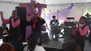 K.I.D. Nation performing at Hosea feed the hungry