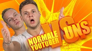 NORMALE YOUTUBER VS. UNS | mit Sascha | inscope21