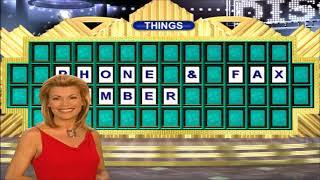 Wheel of Fortune 2003 PC run Game 1