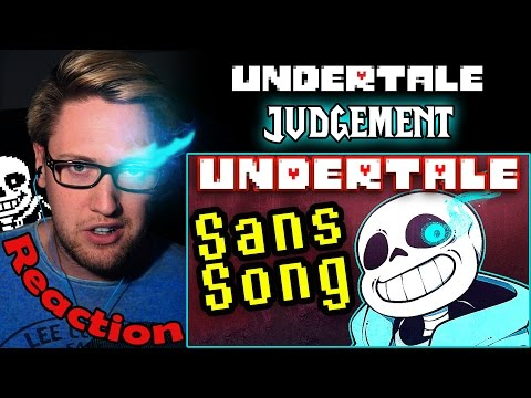 """Undertale Sans Song """"Judgement"""" by TryHardNinja REACTION! 