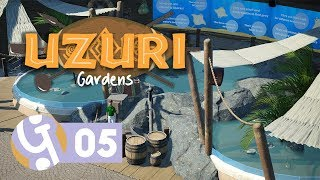 🌴 Stingray Pools | Uzuri Gardens | Let's Play Planet Coaster Ep. 05