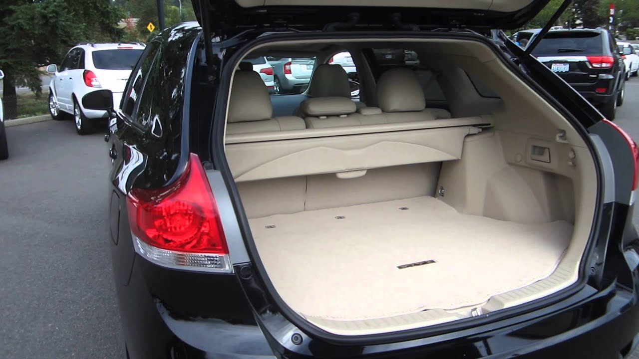 2010 Toyota Venza, Black   STOCK# M1403961   Interior   YouTube