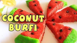 Easy Coconut Burfi | Best Indian Sweets | Nariyal Barfi Recipe | Kanak's Kitchen