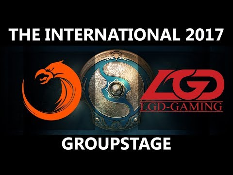 OG vs LFY, The International 2017,  LFY vs OG