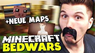 NEUE BW MAPS + PALUTEN SONG ✪ Minecraft Bedwars Woche Tag 176