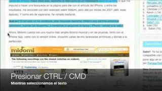 Firefox 3: Copiar y Pegar