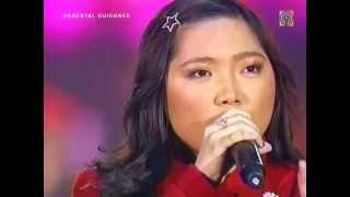 "Charice sings ""O Holy Night"" on ABS-CBN Christmas Special 2008"