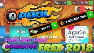 8 Ball Pool Hack - How to get Free Coins and Cash (iOS/Android) [2018]