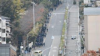 「まさか」の急坂はケーブル線跡 奈良・三郷町