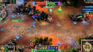 League of Legends - серия 5 [Доминион и лаги у Макса]