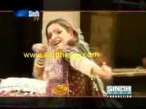 Sindhi song of Shazia Taranm from Sindh TV