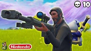 Crazy Shot On Nintendo Switch! (Fortnite Nintendo Switch Live Stream)