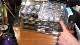 Rangement collection maquillage | Update Après-Noël