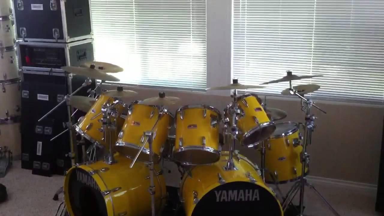 Yamaha Turbo Tour Custom Drums