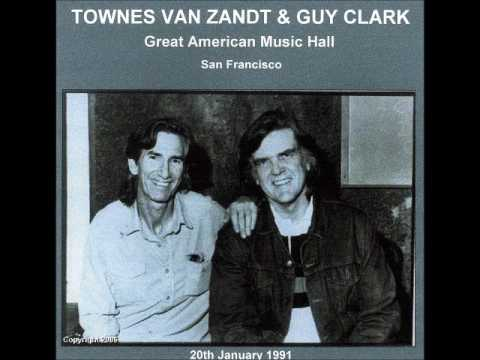 Guy Clark & Townes Van Zandt Great American Music Hall San Francisco, California January 20, 1991