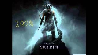 Skyrim Theme Song - Dovahkiin 200% Speed